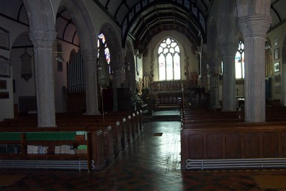 St. Michaels interior